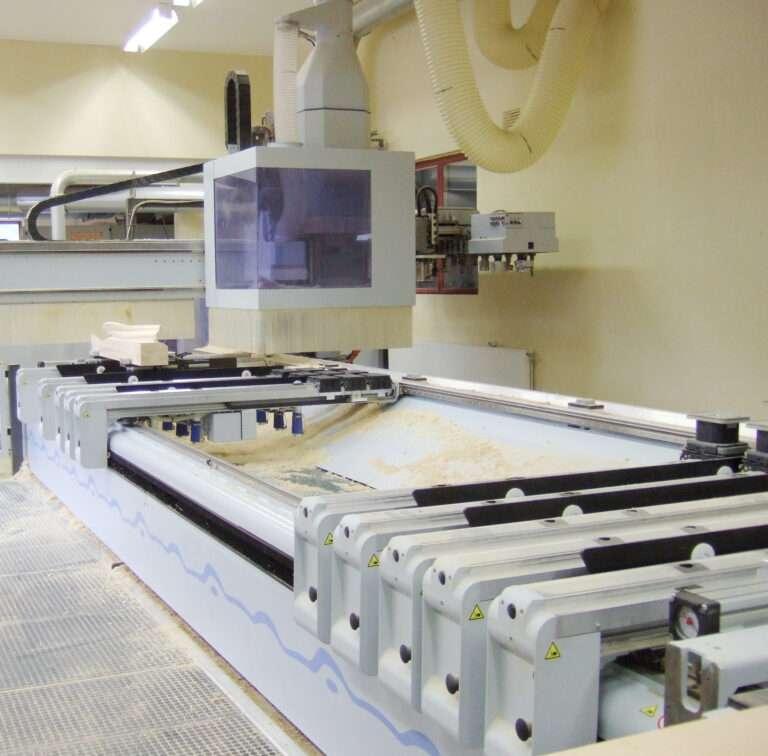 En CNC-maskin